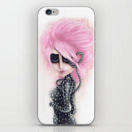 Pinkanhy Polka iPhone Skin