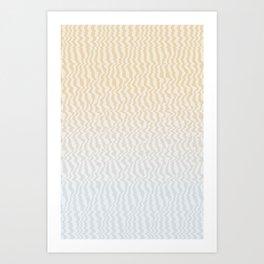 Broken Monitor Art Print