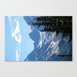 Alpine Blues pt 2 Canvas Print