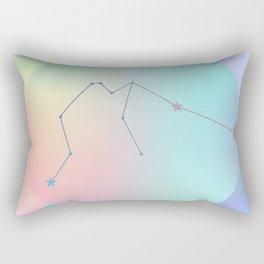 AQUARIUS (ZODIAC SYMBOLS) Rectangular Pillow