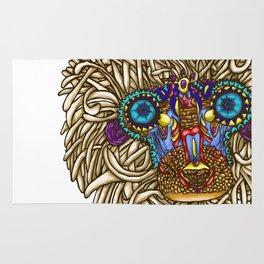 maybe its Rafiki // intricate baboon Rug