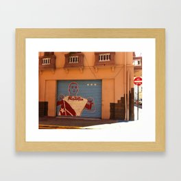loco Framed Art Print