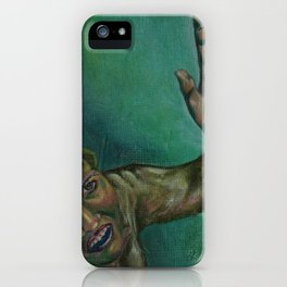 Dim, through the misty panesand thick green light,  As under a green sea, I saw him drowning.  iPhone Case