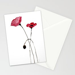Poppies! Stationery Cards