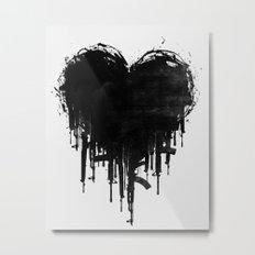 Dark Heart Metal Print