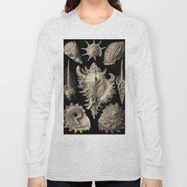 Ernst Haeckel Prosobranchia Sea Shells Long Sleeve T-shirt