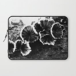 Tree Fungus High Contrast Laptop Sleeve