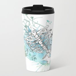 Ribcage in Colour Metal Travel Mug