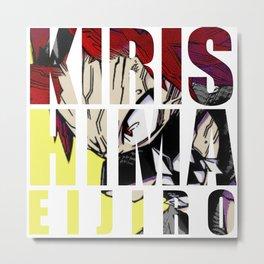Kirishima in Impact Metal Print