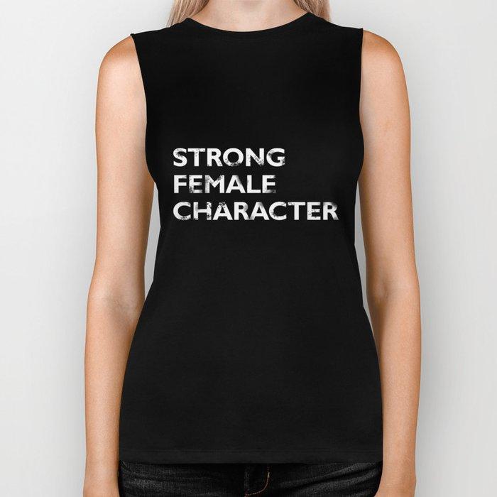 Strong Female Character Biker Tank