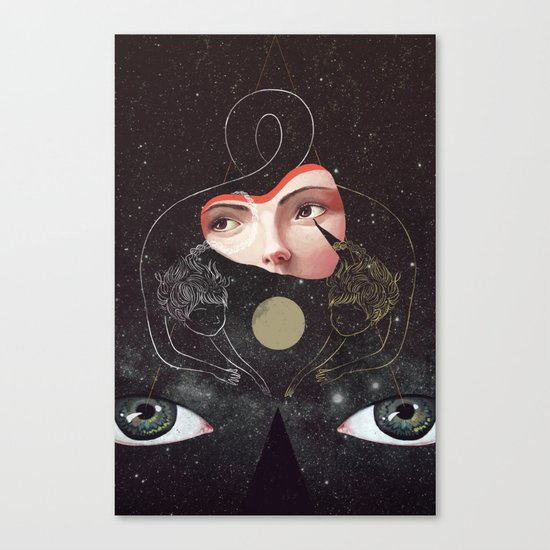 Sister Canvas Print