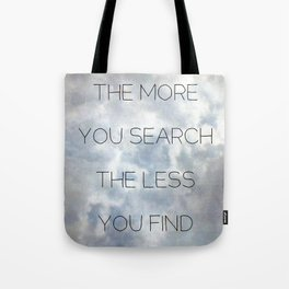 Search & Find Tote Bag