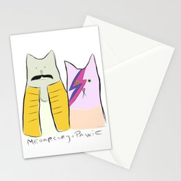 Meowrcury & Pawie Stationery Cards