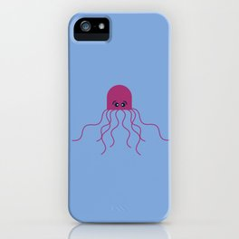 Silly Octopus iPhone Case