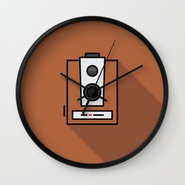 Box Camera Wall Clock