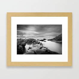 The Giant's Causeway Framed Art Print