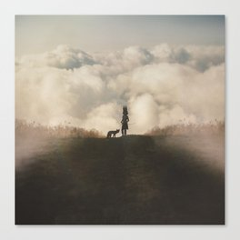 Boyhood Bravery Canvas Print