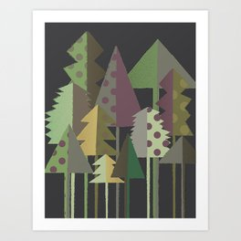 A Colorado Hike Art Print