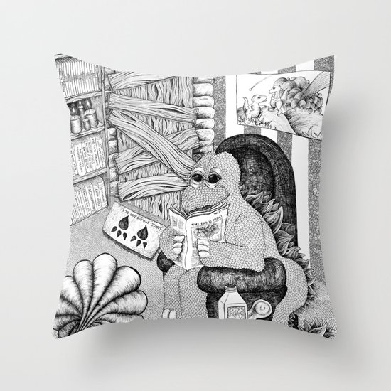 The End is Nigh Throw Pillow