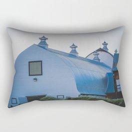 Creamers Dairy and Barn, Fairbanks Alaska Rectangular Pillow