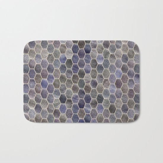 Glitter Tiles Bath Mat