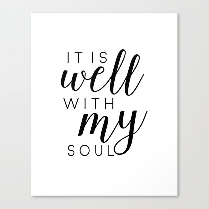 it is well with my soul printable prints printable art