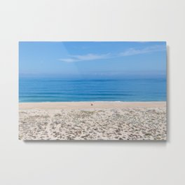 Praia do Norte Metal Print