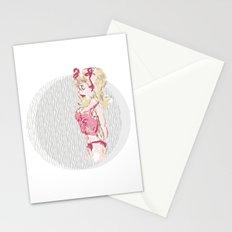 Blondy Girl Stationery Cards
