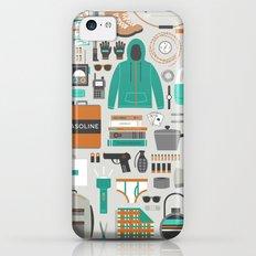Zombie Survival Kit iPhone 5c Slim Case