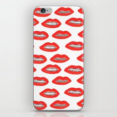 Brace Face iPhone & iPod Skin
