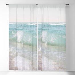 Beach Waves | Photography Summer Vibes | Sun Fun | Water Ocean | Salt | Sea Blackout Curtain