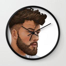 Portrait 09 Wall Clock