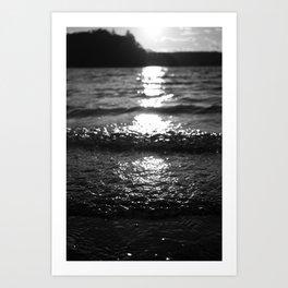 Feeling the Sunset Art Print