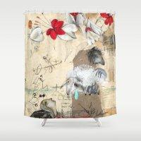 fairytale Shower Curtains featuring FairyTale by Natalie Pudalov