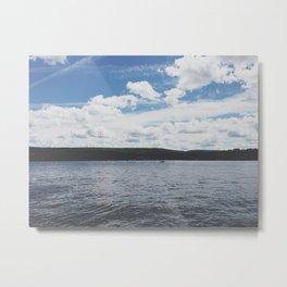 Rushford Lake Metal Print