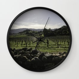 Vintage Scape Wall Clock