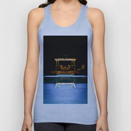 A Swim At Midnight Unisex Tank Top