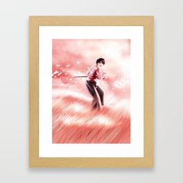 sunset duel Framed Art Print