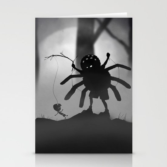 Limbo Kid Stationery Cards