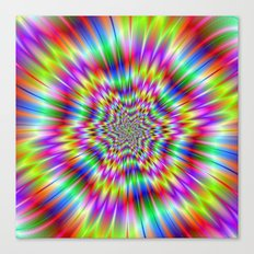 Star Explosion Canvas Print