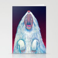 rat Stationery Cards featuring rat by Sara Bea