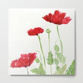 Blooms and Buds Metal Print