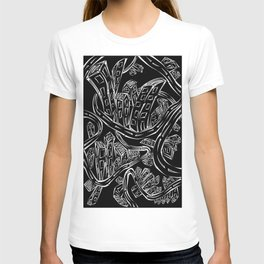 Entangled City Inverted T-shirt