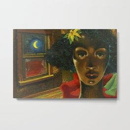African American Masterpiece 'Eldzier Cortor' by Ellis Wilson Metal Print