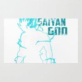 Super Saiyan God Rug