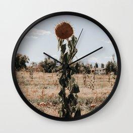Autumn Beauty Wall Clock