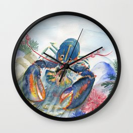 Under The Sea 2 - Lobster Wall Clock