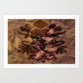 Heket Art Print