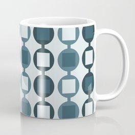 Beads Pattern - Pastel Teal Coffee Mug