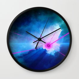 Birth Of A New Star Wall Clock